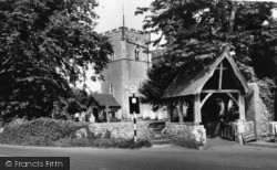 Rustington, Church Of St Peter And St Paul And Lychgate c.1960