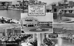 Rustington, Greetings From The Lido c.1950