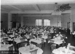 Rustington, Mallon Dene, Dining Room c.1950