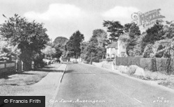 Rustington, Sea Lane c.1960