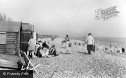 Rustington, The Beach c.1960