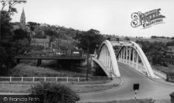 Bridge And Church c.1955, Ruswarp