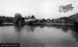 Chain Bridge Tea Gardens c.1960, Ruswarp