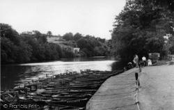 Dam c.1955, Ruswarp