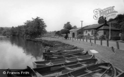 The Boat Landing c.1960, Ruswarp