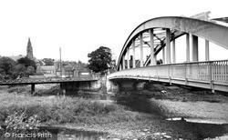 The Bridge And Church c.1960, Ruswarp