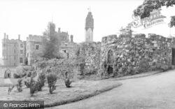 Ruthin, Castle c.1939