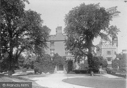 Ruthin, Castle From South c.1900