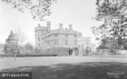 Ruthin, Castle From South West 1939