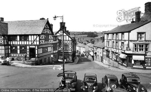 Ruthin, Clwyd Street c1955