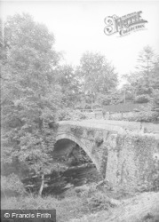 Ruthin, Eyarth Bridge c.1936