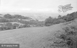 Ruthin, General View 1956