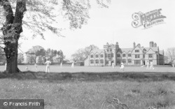 Ruthin, School, Playing Cricket 1939