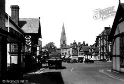 Ruthin, St Peter's Square 1939