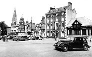 Ruthin, St Peter's Square c1955