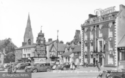 Ruthin, St Peter's Square c.1955