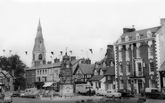 Ruthin, St Peter's Square c1965