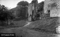 Ruthin, The Castle 1952