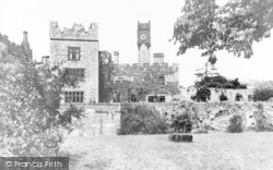 Ruthin, The Castle c.1960