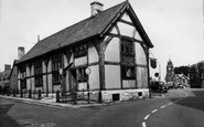 Ruthin, the Old Courthouse c1960