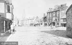 Ruthin, The Square c.1880