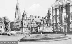 Ruthin, The Square c.1960