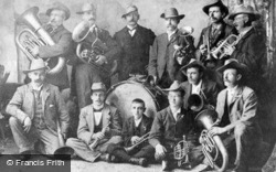 The Town Band c.1914, Ruthin