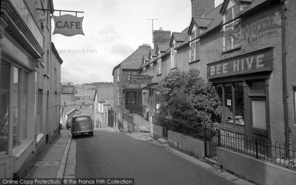 Ruthin, Upper Clwyd Street c1955