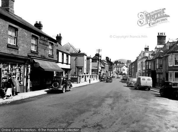 Ruthin, Well Street c1960