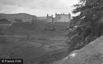 Ruthven Castle, the Barracks 1954
