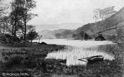 Rydal, Lake And Silver Howe c.1880