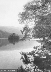 Rydal, Little Isle, Rydal Water 1892