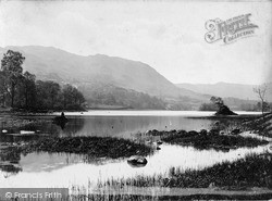 Rydal, Rydal Mere And Loughrigg c.1880