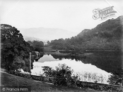 Rydal, Rydal Water, The Boathouse c.1876