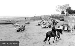 Ryde, East Beach c.1950