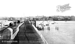 Ryde, From The Pier c.1874