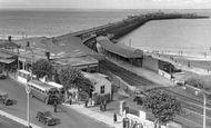 Ryde, Railway Station c1955