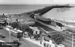 Ryde, Railway Station c.1955