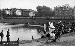 Ryde, The Boating Lake c.1883