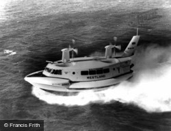 Ryde, The Hovercraft c.1965