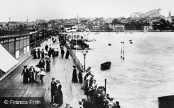 Ryde, The Pier 1899