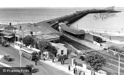 Ryde, The Pier c.1955