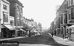 Ryde, Union Street c.1874