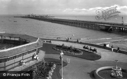Ryde, Western Pavilion And Pier 1927