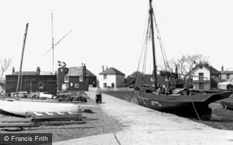 Rye Harbour, c1955