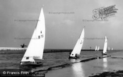 Sailing Boats c.1965, Rye Harbour