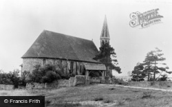 Rye Harbour, The Church c.1955