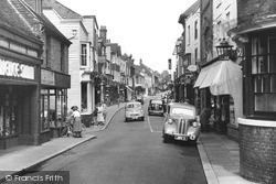 High Street c.1955, Rye