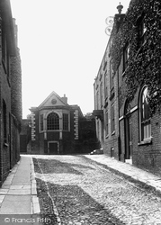 Lamb House And Late Henry James' Study 1925, Rye