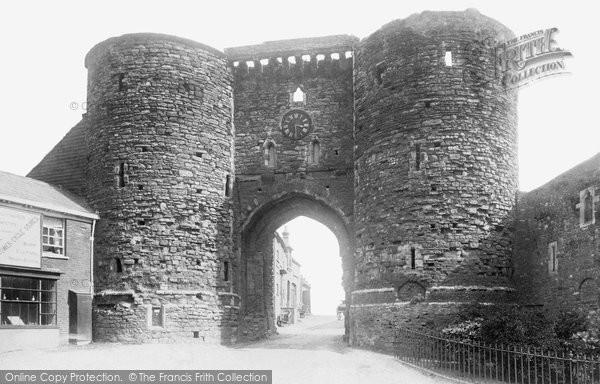 Photo of Rye, Landgate 1890
